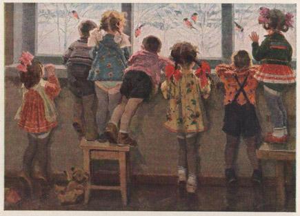Ульянов н и снегири детский сад 1964